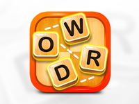 Word Game IOS Icon