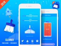 iPhone App Cleaner UI.