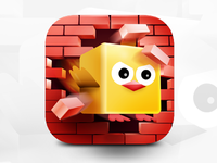 3D Iphone Icon