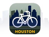 Houston Bike App Icon