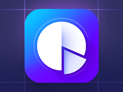 Chart Pie Flat IOS Icon money diagram minimalistic iphone gui ui flat iphone icon ios icon chart pie