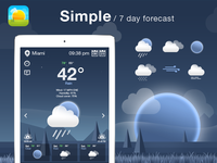 Weather App/Icons Design.