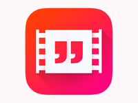 Movie Quote IOS Icon