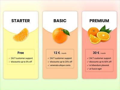 Daily UI 030 - pricing pricing daily ui 030 030 dailyuichallenge ui dailyui030