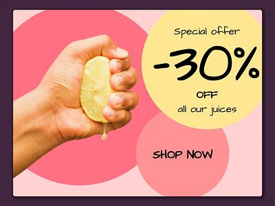 Daily UI 036 - special offer design daily ui 036 special offer specialoffer 036 dailyui036 ui dailyuichallenge