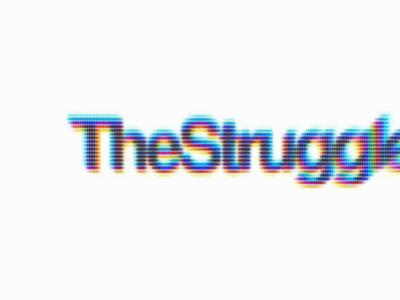 🏴The Struggle ✊🏾 branding motiongraphics digital art communication blacklivesmatter typography motion