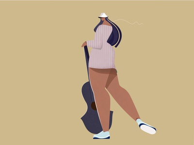 Urban Girl creative character design artwork editorial editorial illustration editorial design character vector illustration