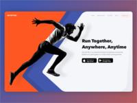 Get Set Run website