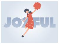 Illustration Joyful