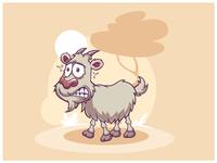 Timid Goat