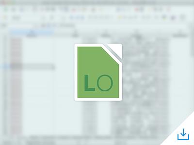 LibreOffice Icon free office icon libre office