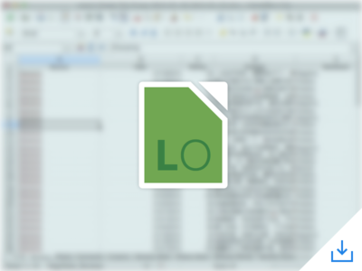 LibreOffice Icon free office icon libre office