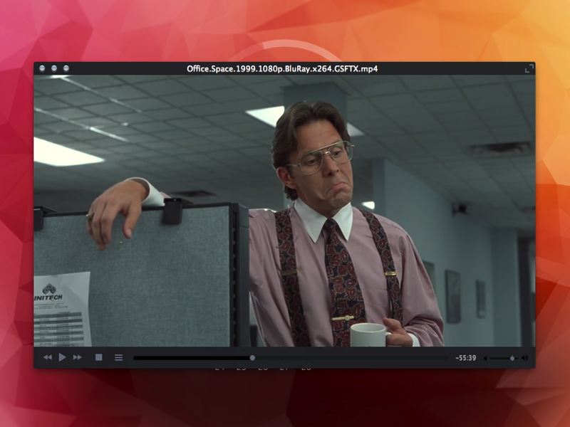 VLC - Skin Pack vlc ui video player office space free freebie