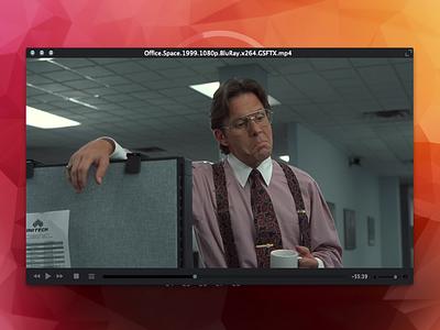 VLC - Skin Pack vlc ui video player office space free freebie