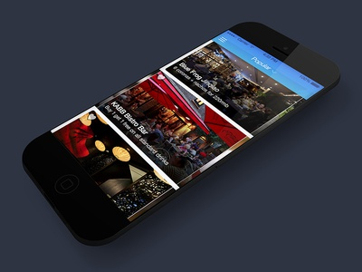 Home screen - Wizpik home listing ios7 app iphone wizpik