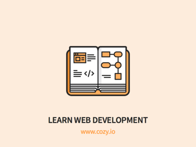 Cozy - Learn Web Development student js development learn book outline icons