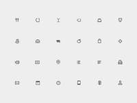 Icons Set 12px
