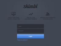 Landing Page - Skimbl