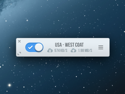 Astrill Mini App icons ui app mini blue astrill clean design mac switch