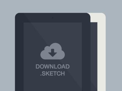 Ipad Minimal Sketch ipad minimal flat free freebie black white sketch