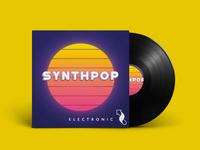 Synthpop Album Cover
