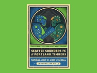 Seattle Sounders vs. Portland Timbers