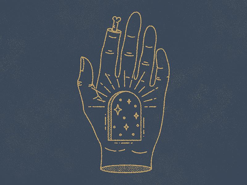 unholy gig poster show poster sunburst hand line art
