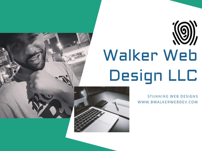 Walker Web Design for Dribbble minimal graphic design clean art logo ui web ux flat design