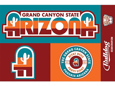 Arizona Sticker Sheet