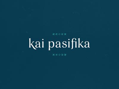 Kai Pasifika Branding