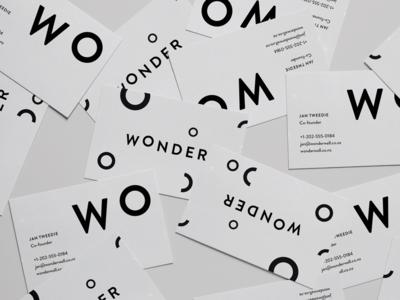 Wonderwall - Business Cards