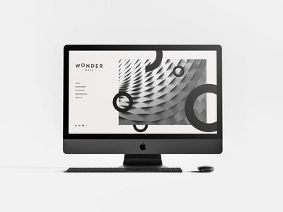 Wonderwall - Website Design