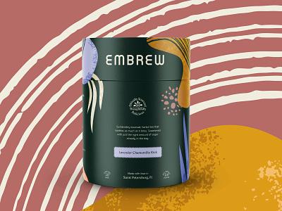 Embrew Packaging branding tube packaging tea