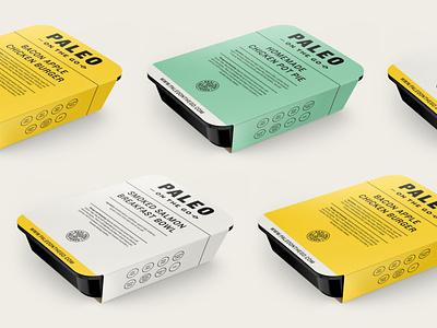 POTG packaging packaging paleo design logo branding