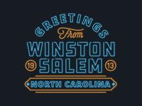 Greetings From Winston Salem