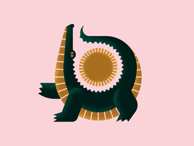 See ya later alligator texture sun florida alligator illustration