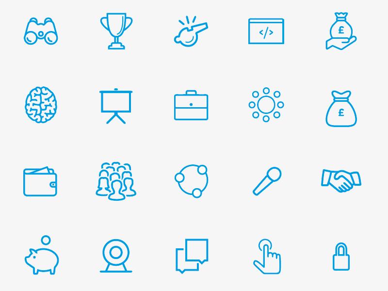 Full Entrepreneur Icon Set grey entrepreneur icon set simple clean stroke infographic report