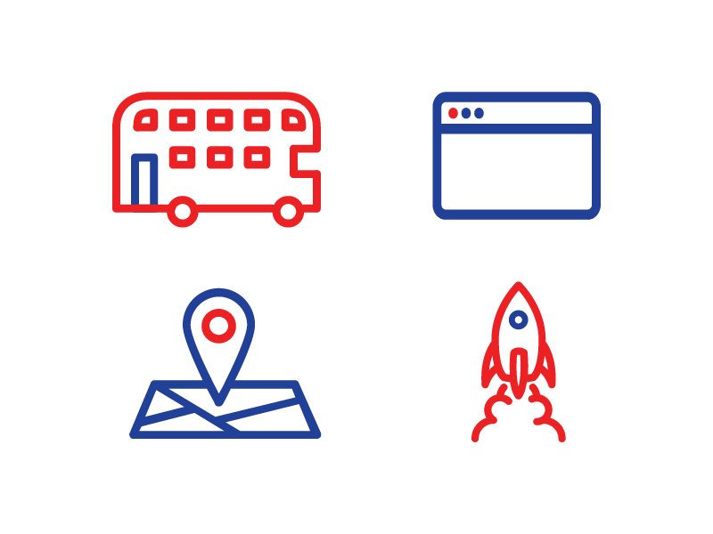 startup britain icons by jonty young dribbble