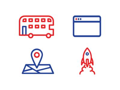 Startup Britain Icons