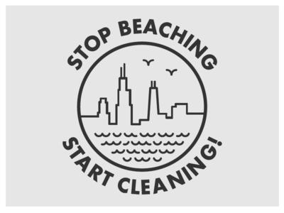 Beach Cleanup Tshirt Design