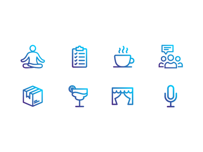 Annual Meeting Icons