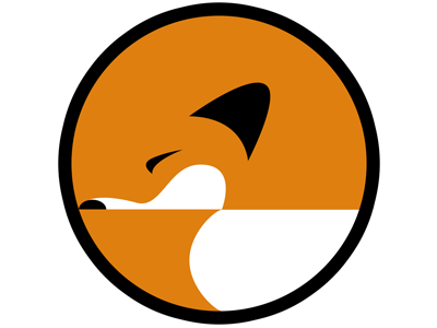Fox icon fox animal