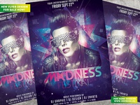 Madness Festival Flyer