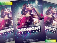 Midnight Festival Flyer