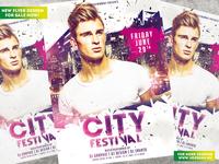 City Festival Flyer