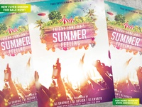 Summer Feeling Flyer