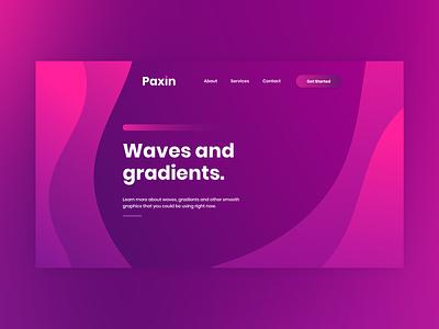 Wave and gradients graphics illustrator waves gradient web design design adobe xd vector