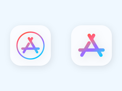 Mac App Collection web design logo app store icon apple icon macos gradients illustrator app app store mac