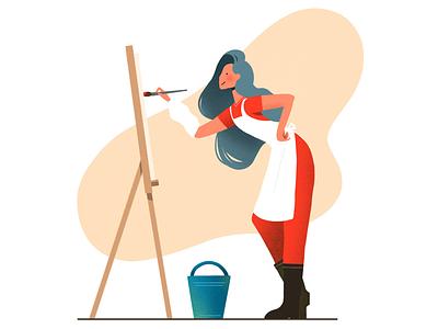 The Job Series - #4 Artist design character design character uiux artist art graphic design graphic drawing procreate illustrate illustrator illustration