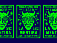 Tequila Barrel-Aged Lime + Salt Lager